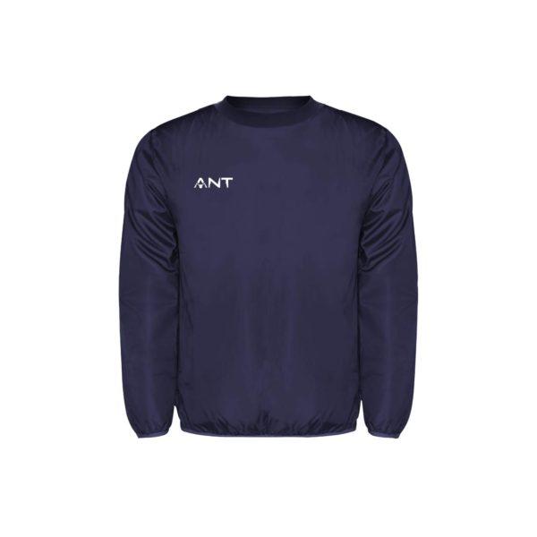 Kway Wind blu Antsport fronte