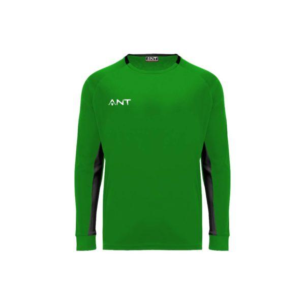Maglia Keeper verde Antsport fronte