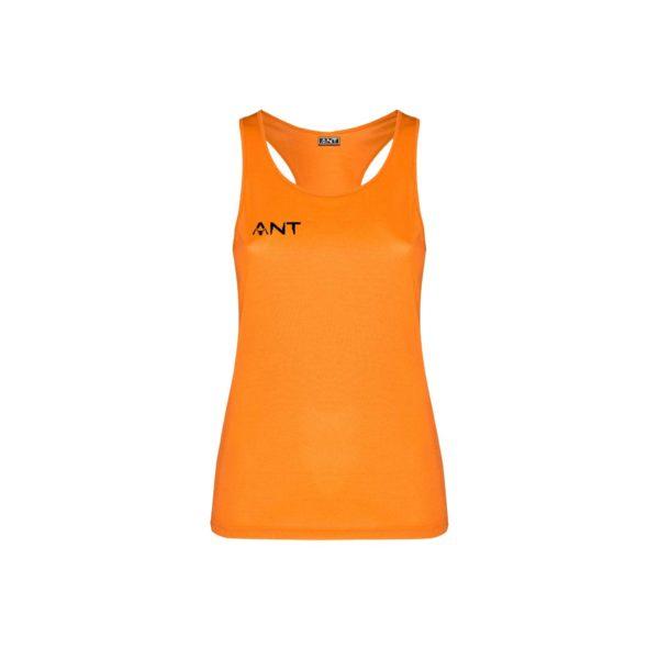 canotta athos donna arancio fluo fronte antsport