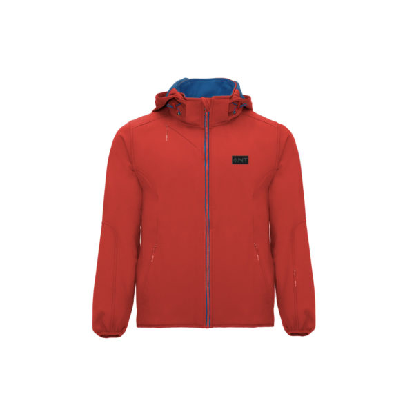Softshell Mosca rosso Antsport fronte
