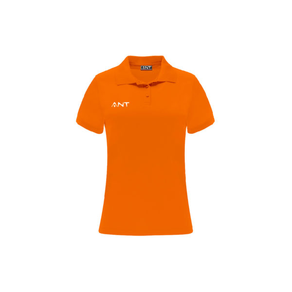 Tshirt Donna VEGA arancione Antsport fronte