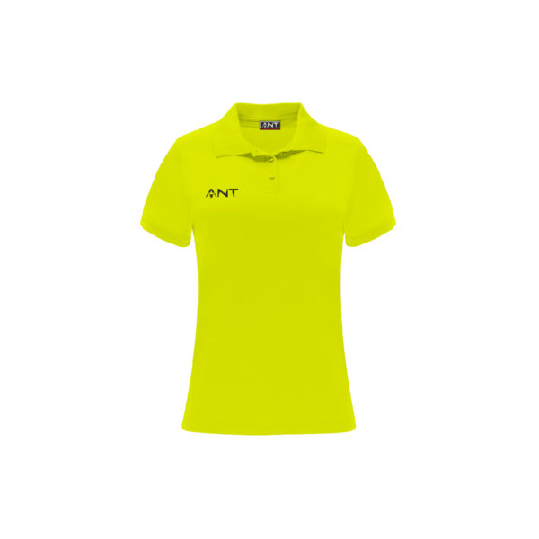 Tshirt Donna VEGA giallofluo Antsport fronte