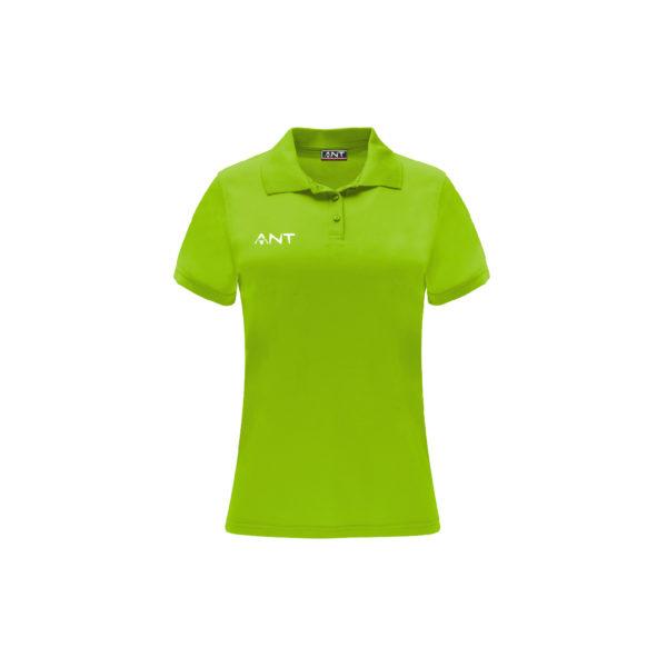 Tshirt Donna VEGA lime Antsport fronte