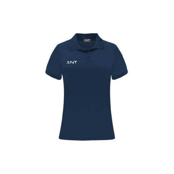 Tshirt Donna VEGA blu Antsport fronte