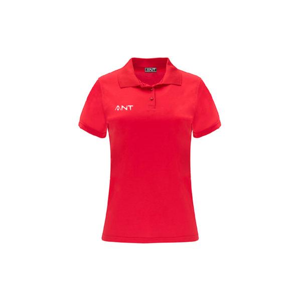 Tshirt Donna VEGA rosso Antsport fronte