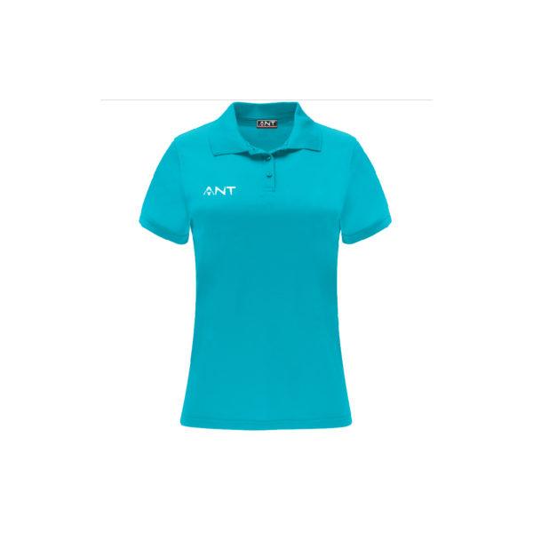 Tshirt Donna VEGA turchese Antsport fronte