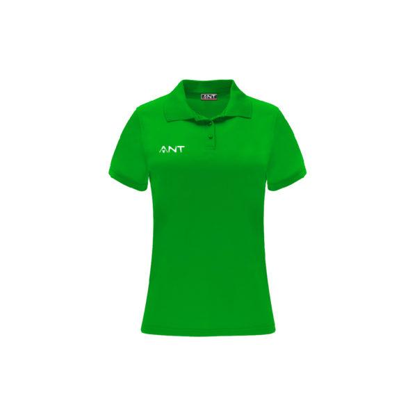 Tshirt Donna VEGA verde Antsport fronte
