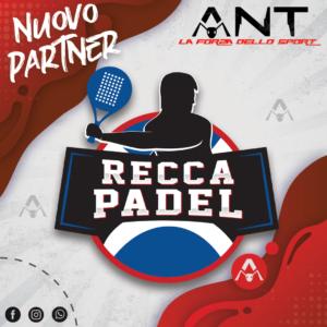 recca padel club new partner ant sport antsport